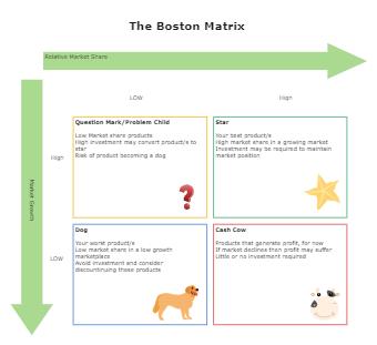 The Boston Matrix Example
