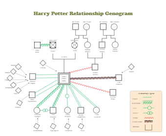 Harry Potter Relationship Genogram