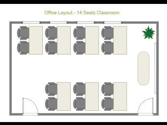 14 Seats Classroom