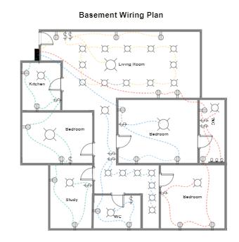 Basement Wiring Plan