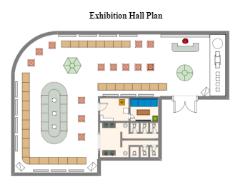 Exhibition Hall Plan
