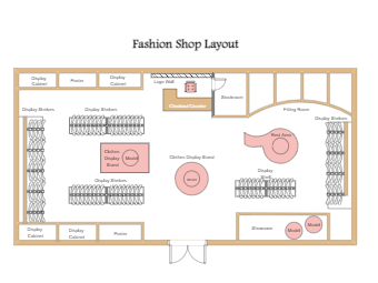 Fashion Shop Layout
