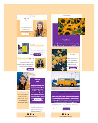Blogger Email Newsletter Template