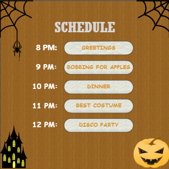 Halloween Party Planner