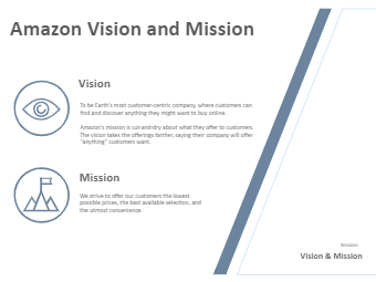 E-commerce Vision and Mission