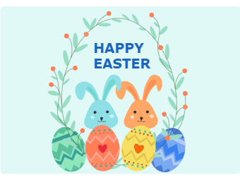 Easter Card Example