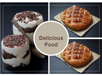 Delicious Food Photo Collage