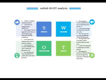 Airbnb SWOT Analysis