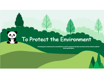 Environment Protection Google Plus Cover