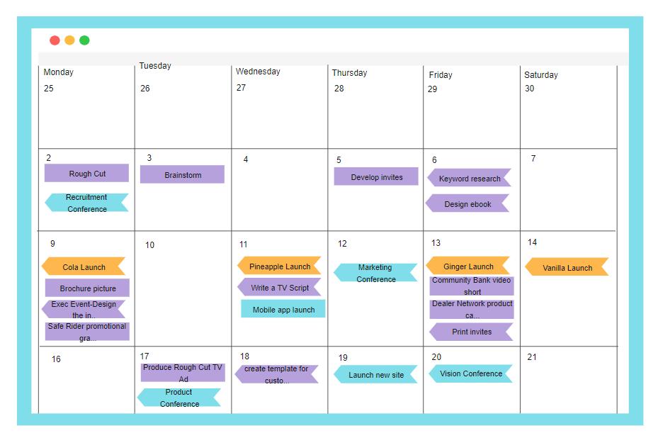 Team Project Calendar