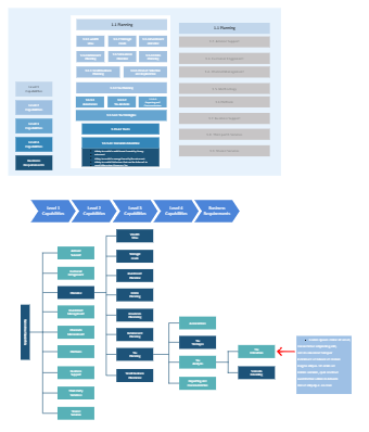 Detailed Business Capability Map