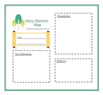 Story Elements For 1st Grade