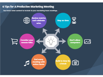 Tips for Productive Marketing Meeting