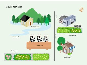 Cow Farm Map
