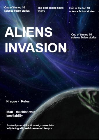 Aliens Invasion Book Cover