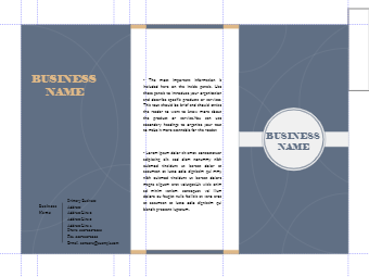 Business Brochure Example