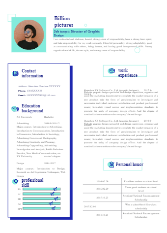 Personalized Resume Template