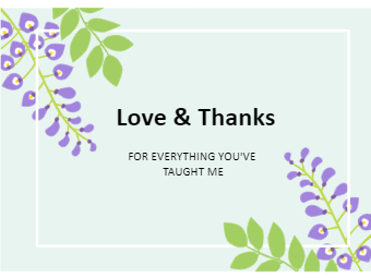 Love and Greeting Card