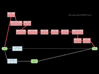 Strategic Plan PERT Chart