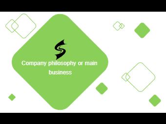 Diamond Shapes Business Card