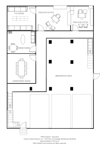 The Warehouse Floor Plan