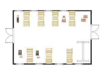 Warehouse Floor Plan Example
