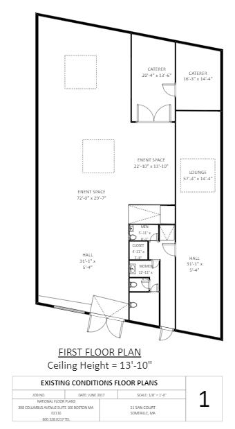 The Warehouse Floor Plan Template