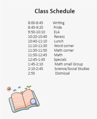 Class Schedule Diagram