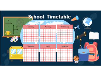 Student Class Timetable Design