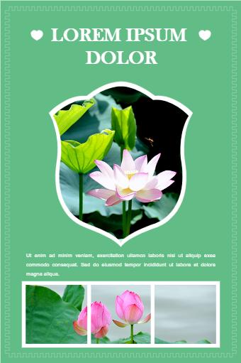 Flower Exhibition Poster