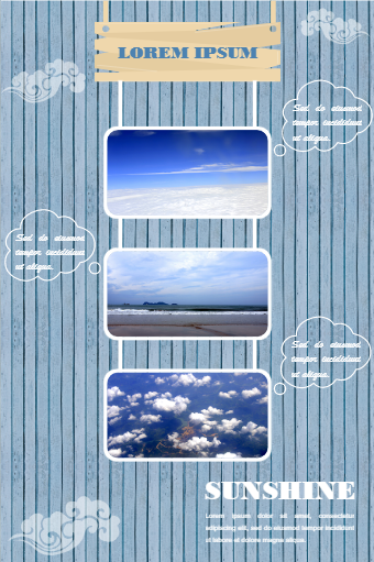 Sky Photography Poster