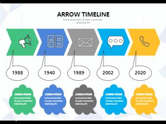 Arrow Timeline