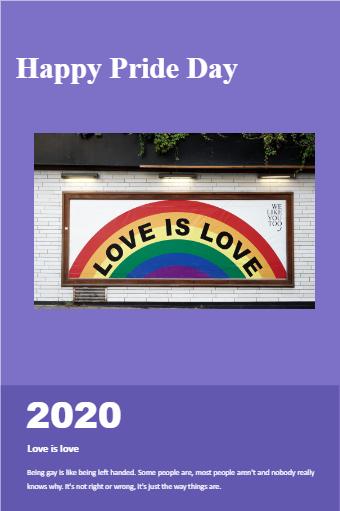 Pride Day Festival Cover