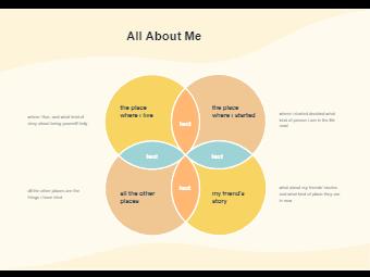 Venn Diagram - All About Me