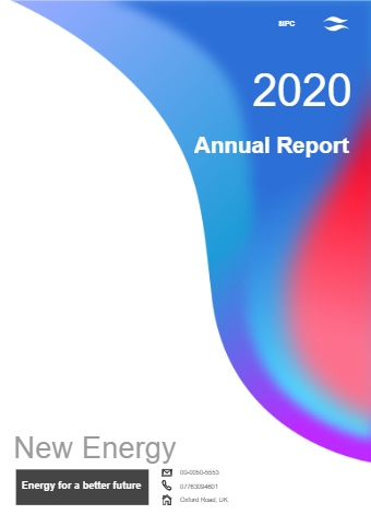 Brief Annual Report Cover