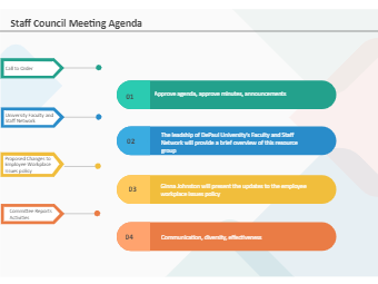 Staff Council Meeting Agenda