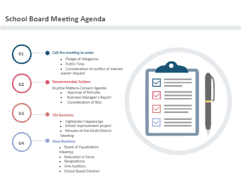 School Board Meeting Agenda