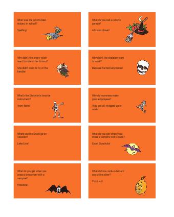 Halloween Jokes Series