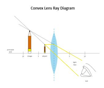 Convex Lens Ray