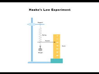 Hookes Law Experiment Diagram