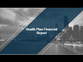 Health Plan Financial Report