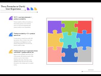 User Experience Management Diagram