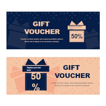 Blue Orange Gift Voucher