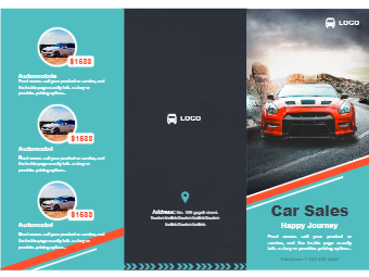 Car Sales Brochure