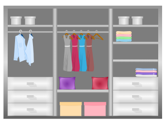 Closet Design Diagram