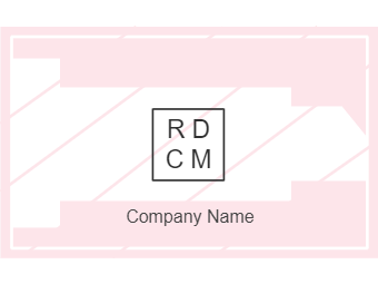 Pink Style Business Card