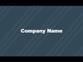 Blue Twill Business Card