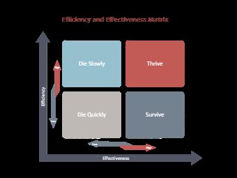 Efficiency Effective Diagram