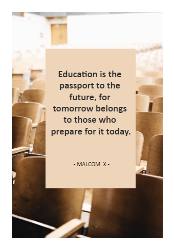 Inspirational Education Quote