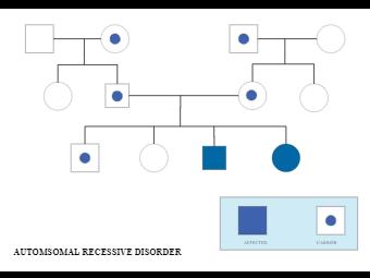 automsomal recessive disorder